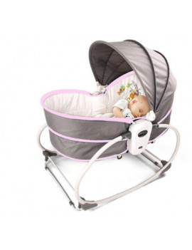 5 In 1 Multi-Functional Babay Swing Chair ,Auto Music Infant  Bouncer Rocking Chair,Newborn Sleeping Handing Basket Home Kids Care