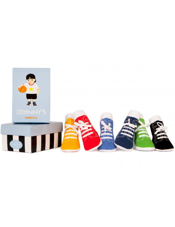 Baby Boys' Johnny's Socks 6-pack (0-12 mo.)