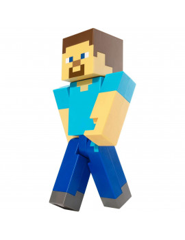 Minecraft Large-Scale Steve 8.5-inch Pixelated Action Figure
