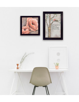 """Ones You Love"" 2-Piece Vignette by Kenda Runnels, Black Frame"