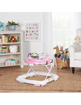 Dream On Me On-The- Go Activity Walker in Light Pink