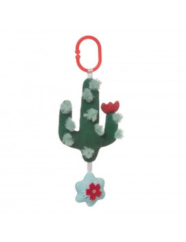 Manhattan Toy Cactus Garden Rock + Rattle BPA-Free Baby Toy with Chime and Rattle