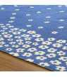 Impressions Printed Wildflower Cotton Indoor Area Rug