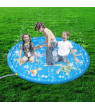 Kids Outdoor Summer Fun Game Party Toy Sprinkler Pad Play Mat Toddler Water Toys