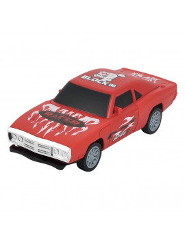 Gotoamei Pull Back Children's Gift Building Blocks Collision Burst Detachable Model Car