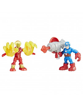 Playskool Heroes Marvel Super Hero Adventures Captain America and Marvel?s Falcon