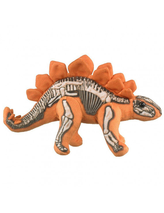 Skelesaurs Stuffed Stegosaurus Dinosaur, Stuffed Animal Plush Toy