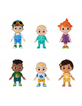 Cocomelon Family and Friends 6 Pack Figures