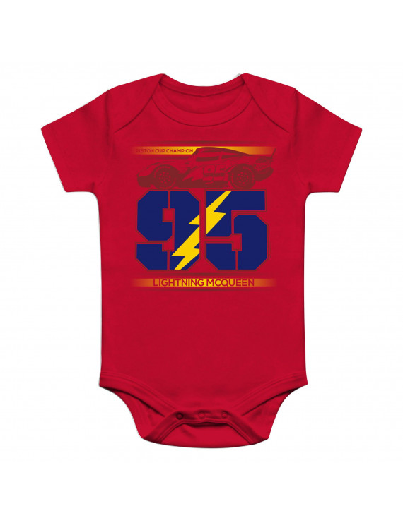 Fanatics Branded Infant Cars 3 NASCAR Lightning McQueen Bodysuit - Red