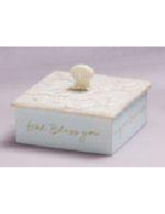 Foundations Family Blue Covered Box #4007252