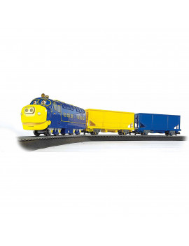 Bachmann Trains Chuggington Brewster's Cargo Caper, HO Scale Ready-to-Run Electric Train Set