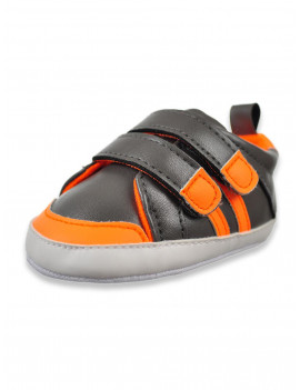 First Steps Baby Boy Two Strap Casual Sneakers (Infant Boys)