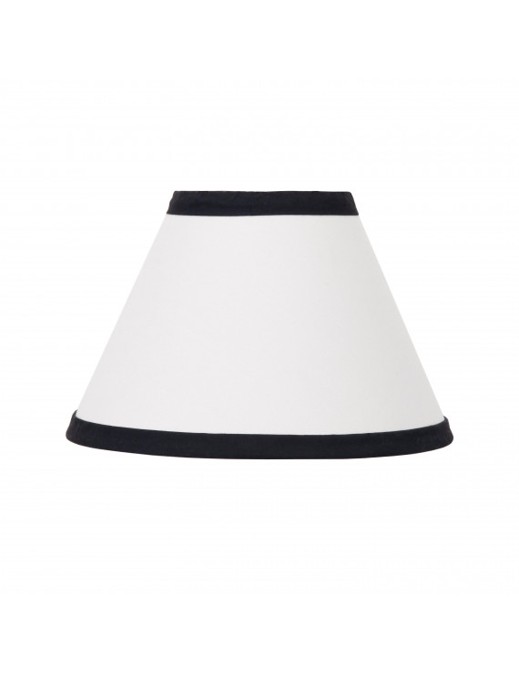 NoJo Dreamer Collection Lamp Shade White/Black