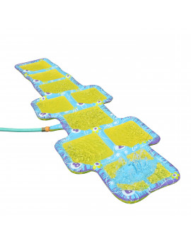 Banzai Aqua Blast Hopscotch Sprinkler Game w/ No-Slip Surface