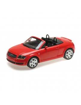 1 by 18 Scale Diecast for 1998 Audi TT Coupe Metallic Gray Limited Edition Worldwide Model Car, Metallic Gray - 300 Piece