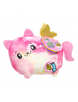 """Pikmi Pops Jelly Dreams, Beams The Cat, 11"""" LED Light up Glowing Plush Toy"""