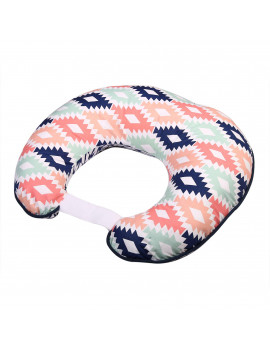 Bacati - Emma Aztec Aqua/Orange/Navy Nursing Pillow Cover fits perfectly only Bacati - Hugster Nursing Pillow