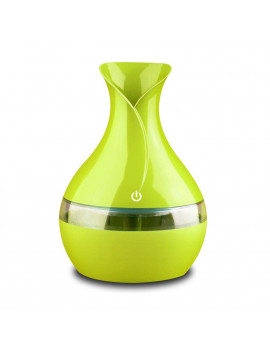 130ml&300ml Aroma Diffuser Humidifier, Mini Ultrasonic Cool Mist Humidifier Essential Oil Diffuser Air Purifier Portable 7Color LED Lights for Home, Office, Baby Room, Bedroom