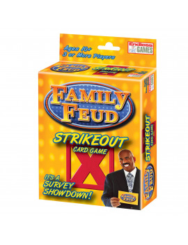 Family Feud Strike Out Card Game (Other)