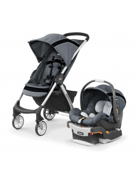 Chicco Mini Bravo Sport Travel System Stroller, Carbon