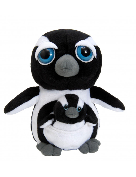 Bright Eyes Penguin Pocketz 10 inch Stuffed Animal by The Petting Zoo (411704)