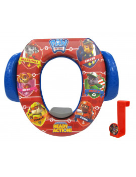 "PAW Patrol ""Ready for Action"" Soft Potty Seat with Potty Hook"