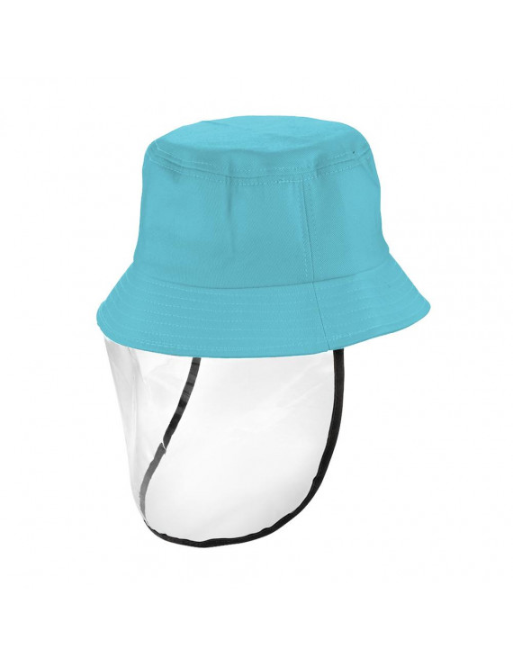Kids Hat with Transparent Dust Cover Hats Sunproof Dustproof Outdoor Hats for Children Boys Girls Toddlers Baby