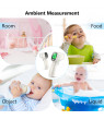 JUMPER Baby Forehead Thermometer FR202 Clinical Tested Digital Infrared Thermometer Accurate Digital Thermometer with Fever Alarm Function for Kids Toddler Children Adults CE and FDA Approved