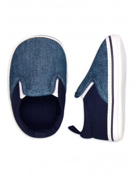 Child of Mine by Carter's Baby Boy Canvas Slip On Shoes