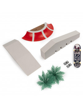 Tech Deck, Build-A-Park World Tour, Paine's Park, Ramp Set with Signature Fingerboard