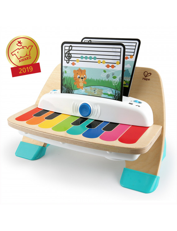 Baby Einstein Magic Touch Piano Wooden Musical Toddler Toy, Ages 12 months +