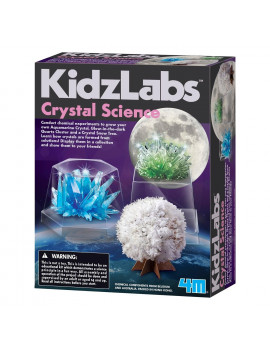 KidzLabs 4M Crystal Science Kit
