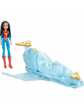 DC Super Hero Girls Wonder Woman Doll & Invisible Jet