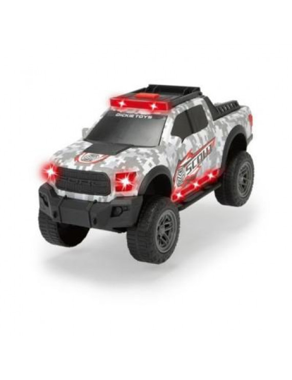Dickie Toys - Light & Sound Ford F150 Raptor, Scout