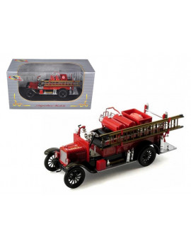 1926 Ford Model T Fire Engine Red/Black 1/32 Diecast Model Car by Signature Models