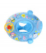 Baby Swimming Ring , Baby Inflatable Pool Float Loungers with Adjustable Sun Shade CaBaby Swimming Boat Seat Rinopy Safety Seat Kids Games Toys