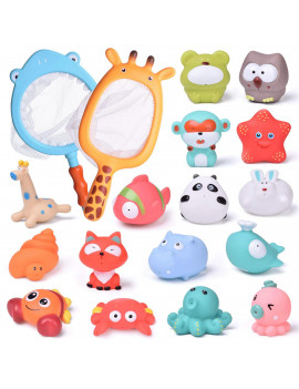 18 PCs Baby Bath Toys Bloody Weapons, Fake Weapons Dress Up Accessories For Haunted Houses Sickle, Axe, Saw, Scissors, Bloody Knives and Kids Halloween Cape F-358