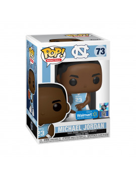 Funko POP! Basketball: UNC - Michael Jordan (Home Jersey) - Walmart Exclusive
