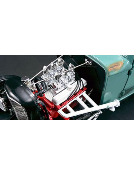1932 Ford 5 Five Window Southern Speed and Marine Hot Rod Limited Edition to 822pc 1/18 Diecast Model Car by Acme