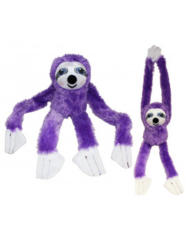 "#PlushPals 27"" Sloth Stuffed Animal Plush Toy Soft & Fluffy - Purple"