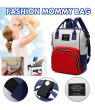Multi-functional Travel Backpack,Multi-pocket Mummy Maternity Nappy Bags Changing Bags with Insulated Pockets