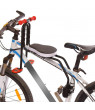 Mountain Bike Front Seats Mat Children Baby Bicycle Safety Chair With Armrest Bar Pedal Cycling Acccessories