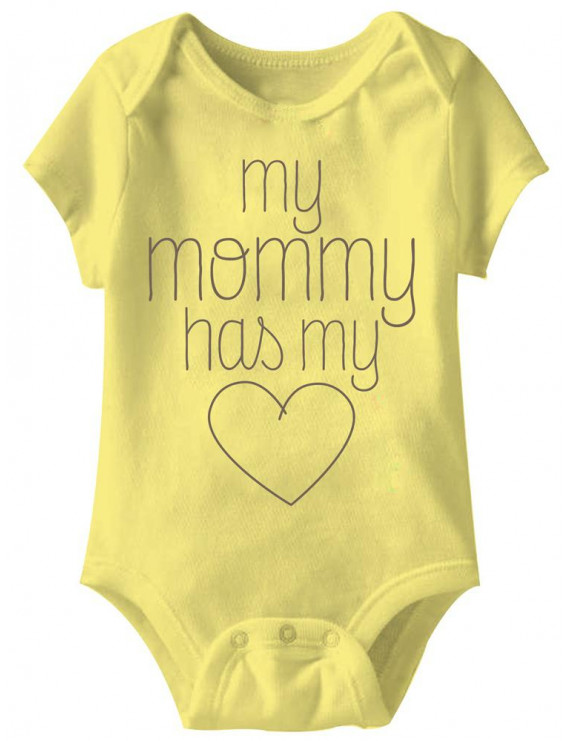 American Classics My Mom Infant Baby Snapsuit Romper