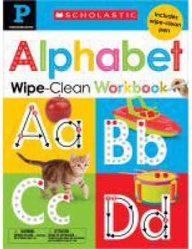 Scholastic Early Learners: Alphabet Pre-K Wipe-Clean Workbook: Scholastic Early Learners (Wipe-Clean Workbook) (Other)