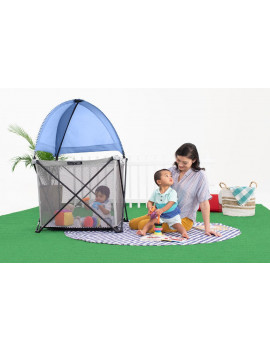 Summer™ Pop 'n Play™ SE Cube Playard, Blue Raspberry