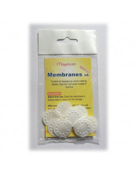 Maymom Replacement Membranes For Medela Breastpumps - Pack of 8