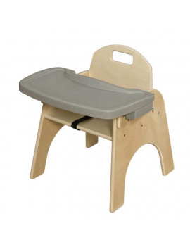 11 in. Seat Height, Woodie with Adjustable Tray
