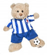 "All Star Soccer Uniform Teddy Bear Clothes Fits Most 14"" - 18"" Build-a-bear and Make Your Own Stuffed Animals"