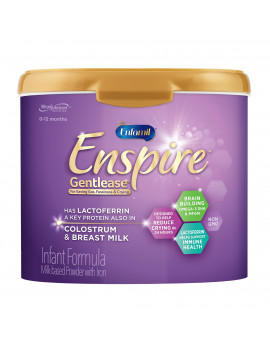 Enfamil Enspire Gentlease Infant Formula with MFGM and Lactoferrin - Powder, 20 oz Reusable Tub