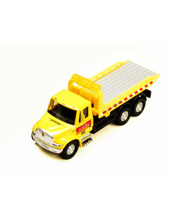 International Rollback Tow Truck, Yellow - Showcasts 2106D - 1/43 scale Diecast Model Toy Car (Brand New but NO BOX)